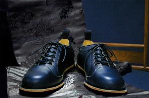 オンライン本藍革靴