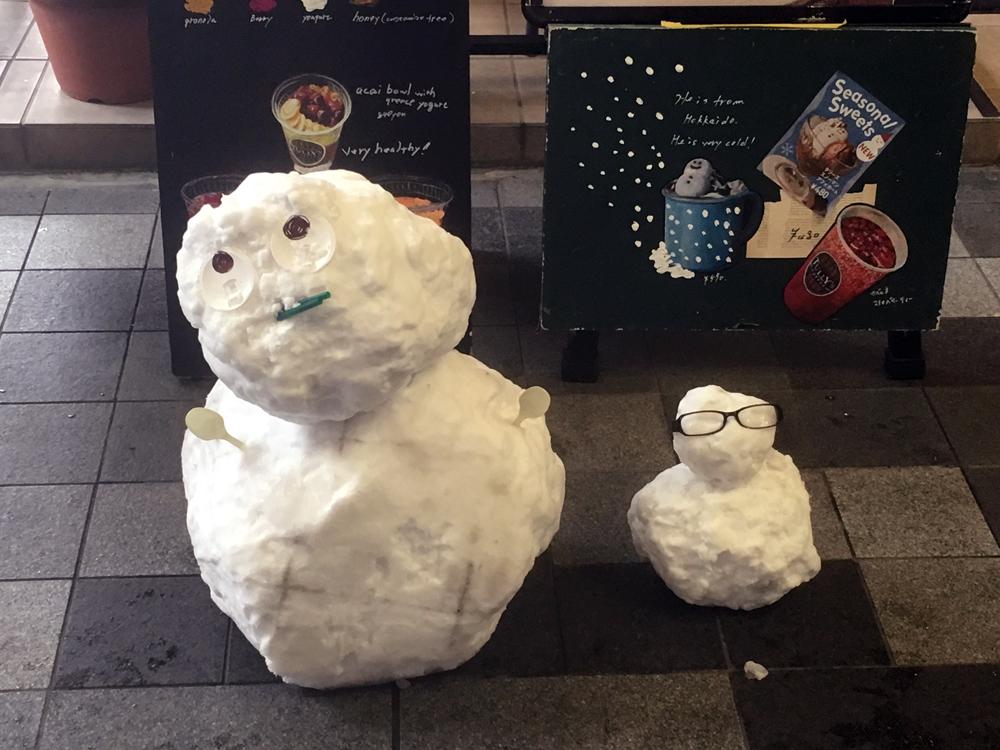 住 雪だるま