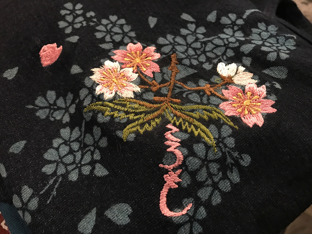 桜インディゴT