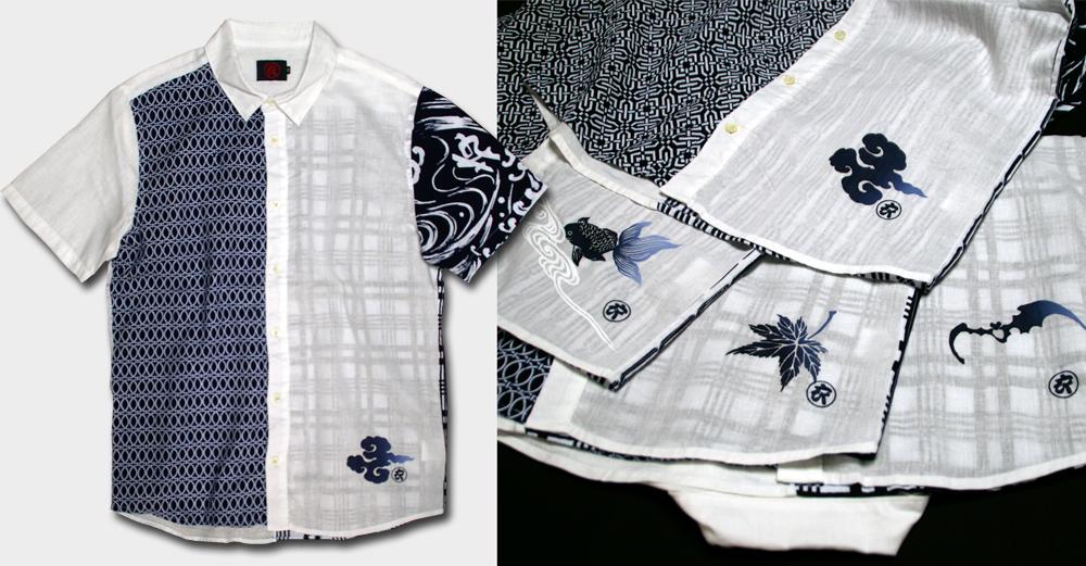 半袖シャツ-白