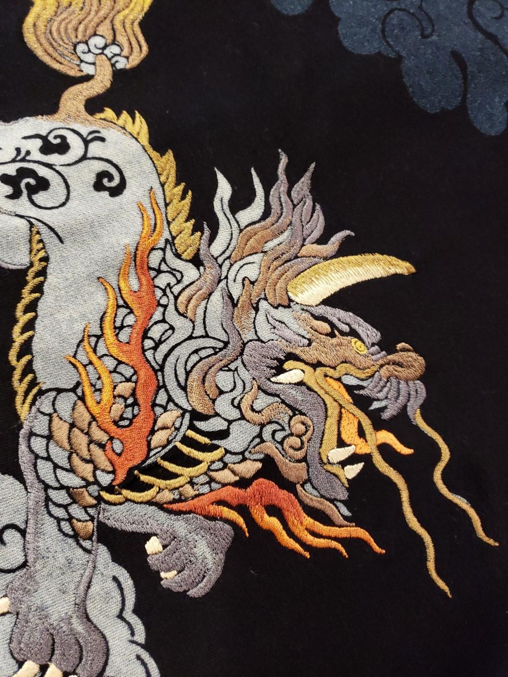 カクタン刺繍