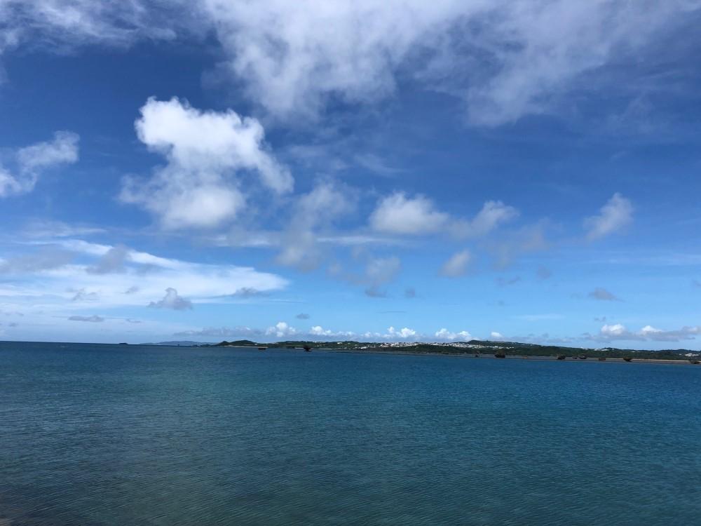 海と空の写真