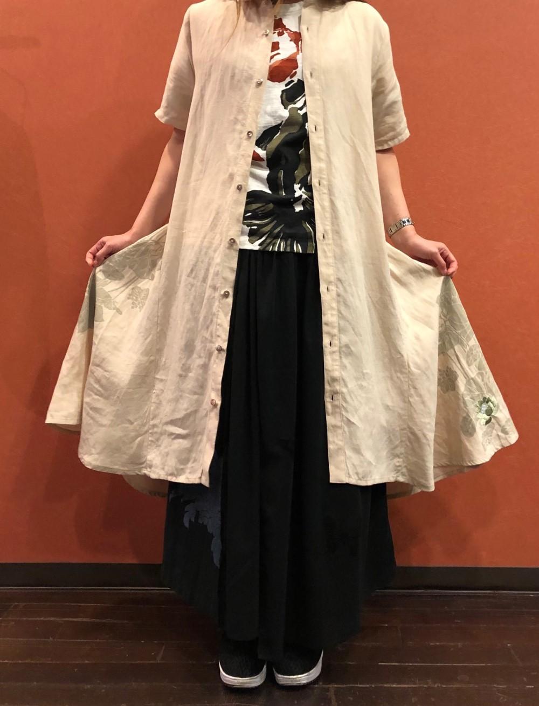 ふわり裾舞花ワンピース (1)