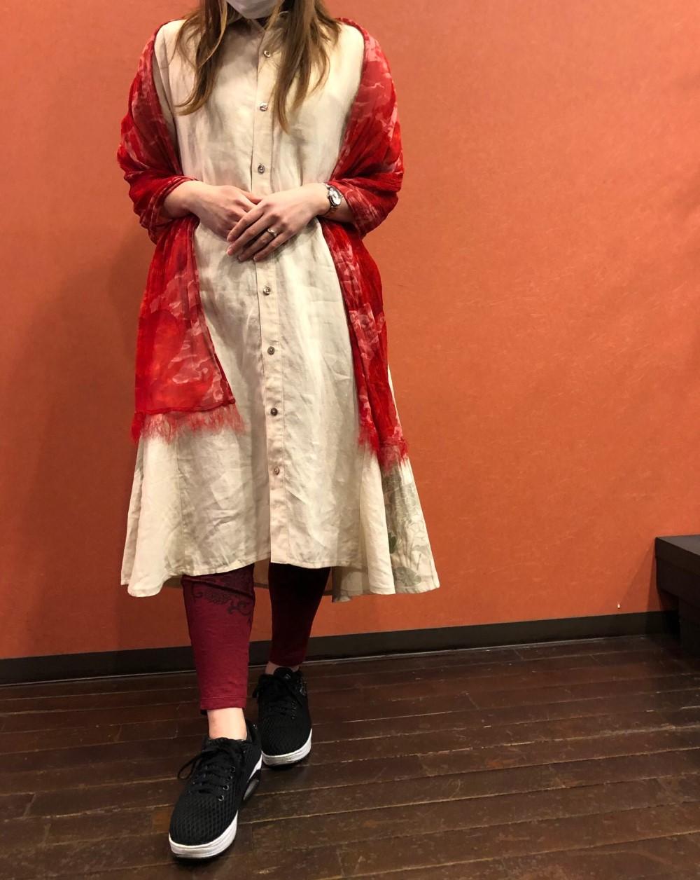 ふわり裾舞花ワンピース (3)