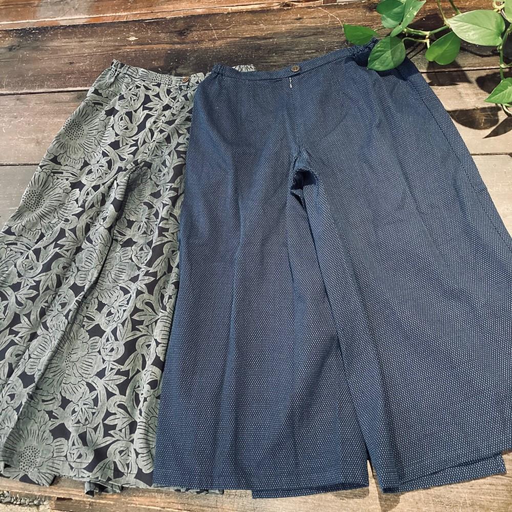 スカートパンツ写真